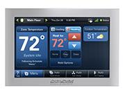 WiFi programable thermostat, HVAC temperature controls