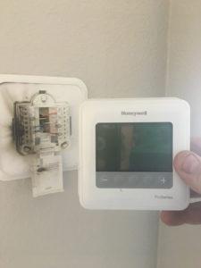 Thermostat Lightning Strike