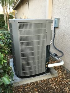 AC Unit install in Brandon Florida