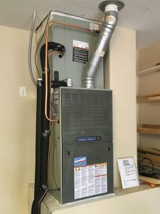 American Standard Gas Furnace Install