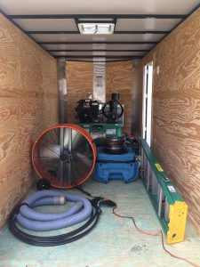 Bloomingdale Air Duct Cleaning Trailer