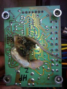 Failed Heat Pump Defrost Control Board