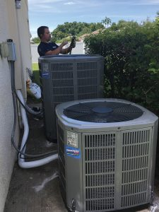 Heat Pump Systems being installed in Brandon