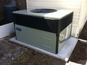 Package AC Unit Installed in Valrico FL