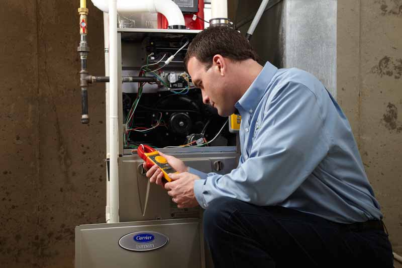 Furnace diagnostics procedures with common and simple furnace fixes