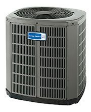 American Standard Air conditioner, Outdoor unit, AC condenser